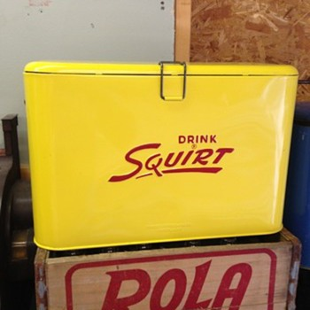 Squirt Cooler - Advertising