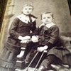 Antique Cabinet Card of Crippled Boy