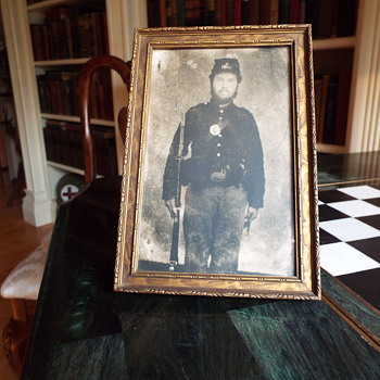Civil war soldier - Photographs