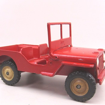 Al-Toy Jeep - Model Cars