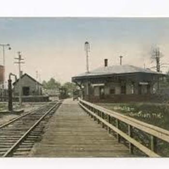 Windham NH Depot Postcard - Postcards