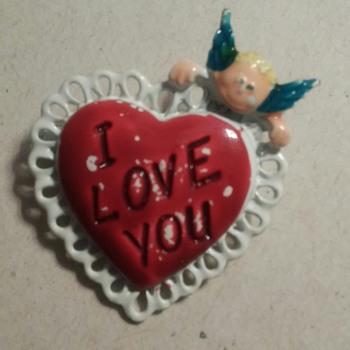 A heart!  - Costume Jewelry