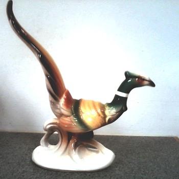 Vintage Spaulding Royal Copley Male Pheasant/ K 4534 / Circa 1940's 1950's - Figurines