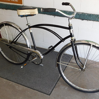 Dumpster Dive - 1960s Hiawatha Adult Bicycle w/Troxel Seat - Sporting Goods