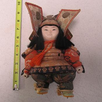 Samurai Warrior Doll (?)