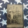 Tintype of a family not so happy??