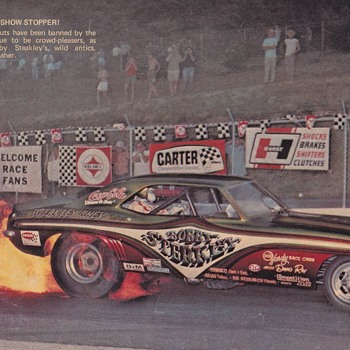 Long Awaited Dragster Magazine Scans circa 1972 - Photographs