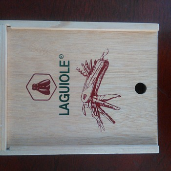 Laguiole presentation box knife - Sporting Goods