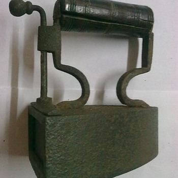 Small slug iron.