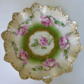 Do You Think This Draped/Scalloped Plate is R S Prussia? - China and Dinnerware