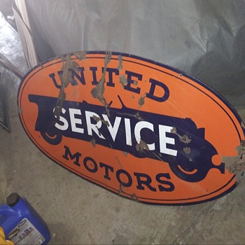 United Motor Service - Signs