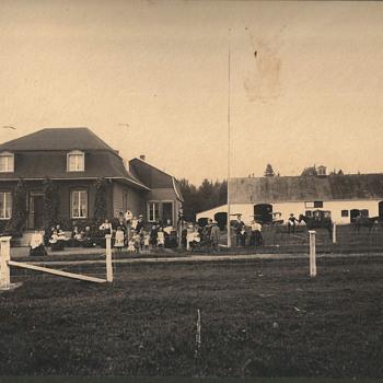 "Family Reunion at the Farm House""late 1880"" - Photographs"