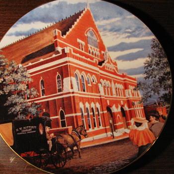 Ryman Plate #196 - Music Memorabilia