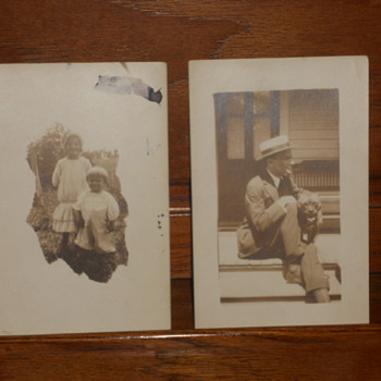 Some more old photos on post cards