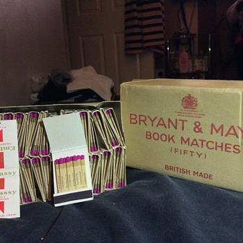 Mystery matchbooks