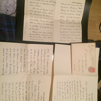 A letter from admiral pakenham to lady Arbuthnot - Military and Wartime