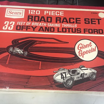 Sears road race set  - Model Cars