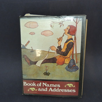 Books of Names and Addresses MMA Abrams - Books