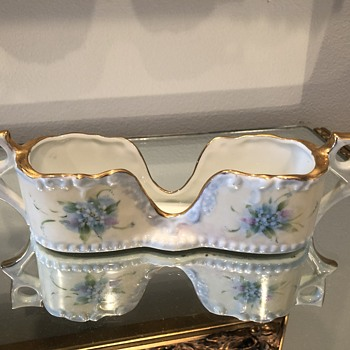 Antiques Porcelain Eyeglass Holder - China and Dinnerware