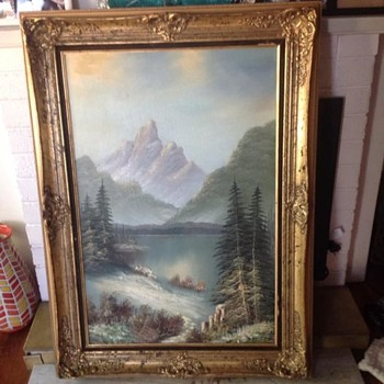 Oil Painting Help - Signed Anderson - Fine Art
