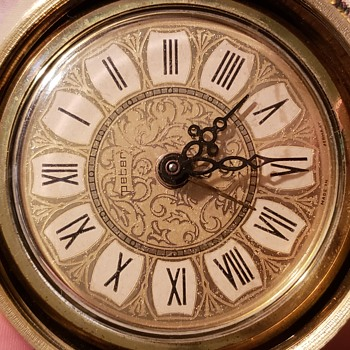 German made Peter Apple alarm clock  - Clocks