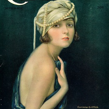 Actress Corrine Griffith Motion Picture Classic Magazine  September 1921