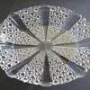 George Davidson Clear Pressed Glass Dish