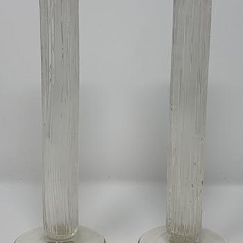 """Loetz """"kristall Blitzglas mit dunkelblauem Rand"""", PN II-4640, ca. 1907 - Art Glass"""