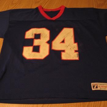 Signed Vintage Thurman Thomas Buffalo Bills Jersey #34