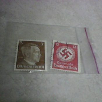 HITLER POSTAGE STAMPS - Stamps