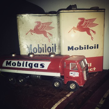 mobil oil and gas, small part of my collection