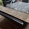 old wooden 'scaffolding plank'