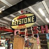 Keystone Gas Porcelain Sign