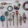 A Selection of Bernard Instone Brooches