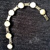 Sterling silver and MOP Poland bracelet