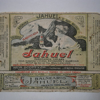 The Mineral Water Jahuel