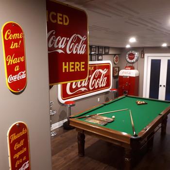 1949 Coca Cola Flange - Coca-Cola