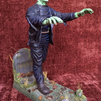 Frankenstein - Vintage Antique model by Aurora - Toys