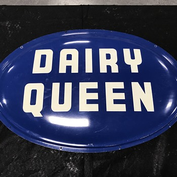 Dairy Queen sign 1950's  - Signs