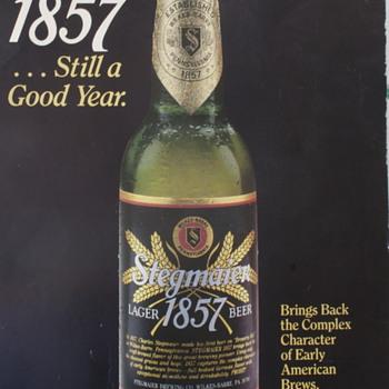 Stegmaier 1857 Poster - Breweriana