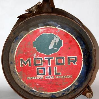 5 Gal. E-Zee Pour oil drum - Petroliana