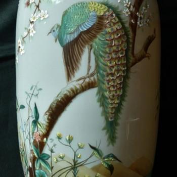 Fritz Heckert Bird Vases - Art Glass