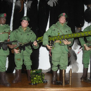 GI Joe Green Beret Special Forces Set 1966 - Toys
