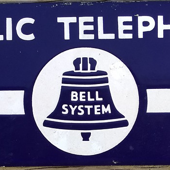 Bell System Telephone Sign - Signs