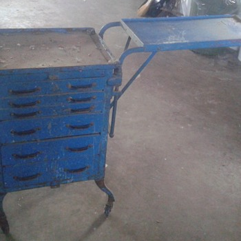 Old Tool Cart  - Tools and Hardware
