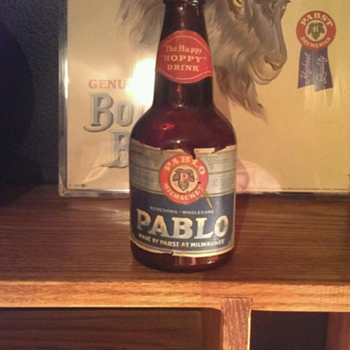 Pabst Prohibition Pablo Bottle