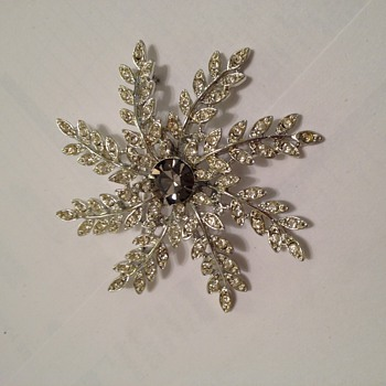 Grandmother's pin; Saracoventry - Costume Jewelry