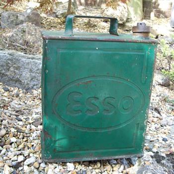 Esso Petrol Can - Petroliana