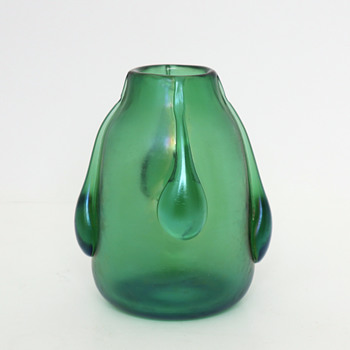 Loetz Vesuvian Vase c.1901 - Art Glass