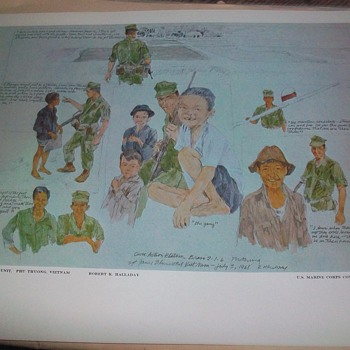 U.S. MARINE CORPS COMBAT ART COLLECTION PRINT - Posters and Prints